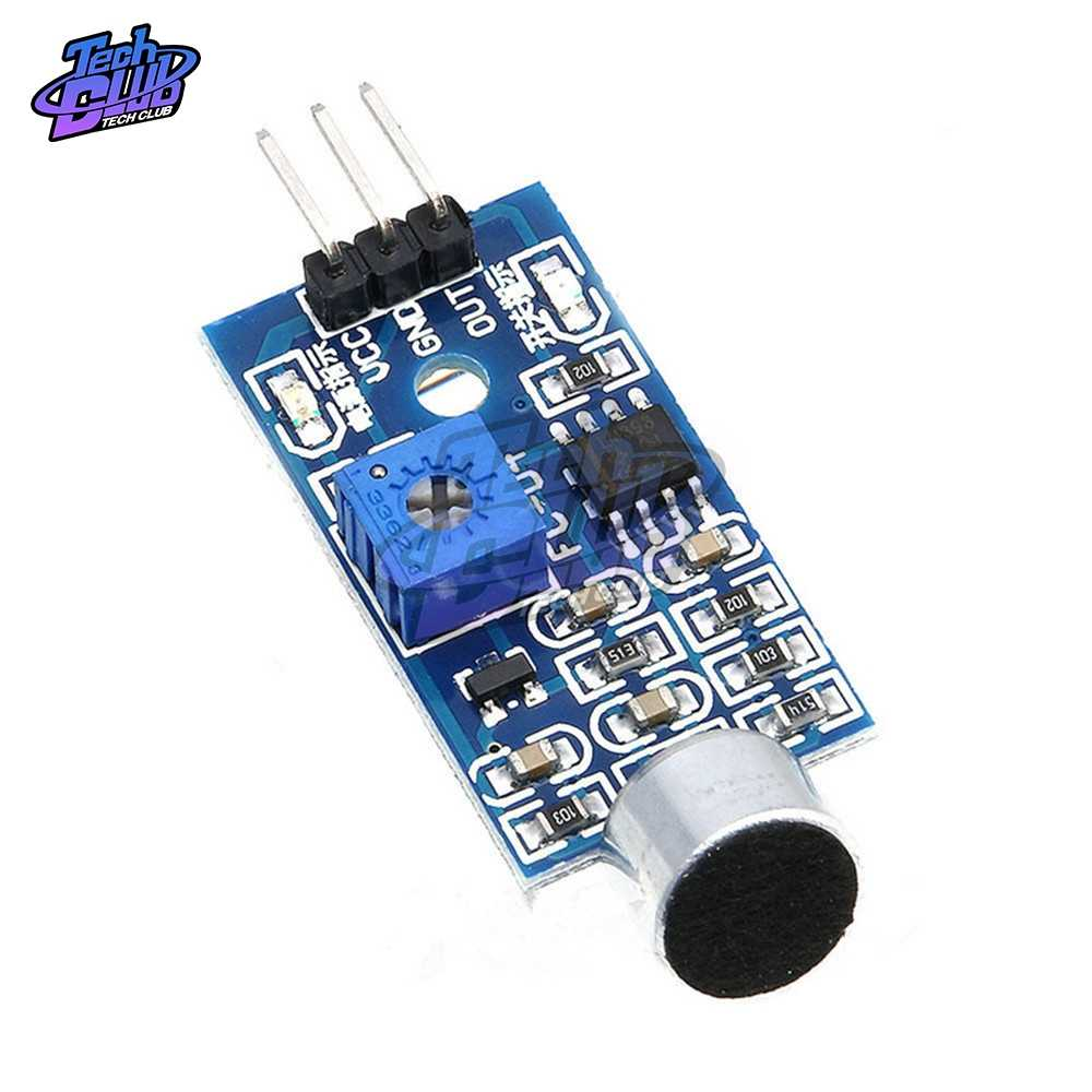 1Pcs 3pin Voice Sound Detection Sensor Module Intelligente Smart Robot Helicopter Vliegtuig Boart Auto Voor Arduino Diy Kit