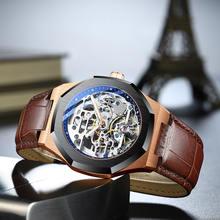 2020new authentic ailang часы Мужские автоматические механические