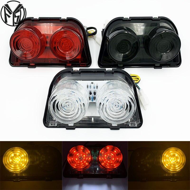 For HONDA CBR 250 CBR 400 CBR250 CBR400 NSR 250SP NSR250SE NSR 250SP/250SE MC 18/19/21/22/28 NC23 Motorcycle Rear Tail Lights