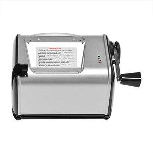Image 3 - מתגלגל מכונת סיגריות מתכת חשמלי אוטומטי טבק רולר אלקטרוני יצרנית סיגריות מגש צינור עישון אביזרים