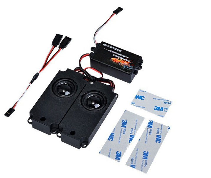 Новейшая обновленная звуковая система двигателя для радиоуправляемого автомобиля Axial SCX 10 II WRAITH Traxxas TRX4, 2019