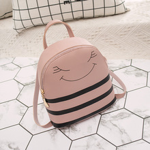 Womens backpack woman 2019 spring new fashion double shoulder bag leisure handbag Amazon wholesale