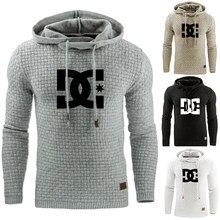 Masculino casual esporte plus size S-XXXXXL hoodie inverno quente com capuz moda hoodies casaco jaqueta outwear pullovers moletom