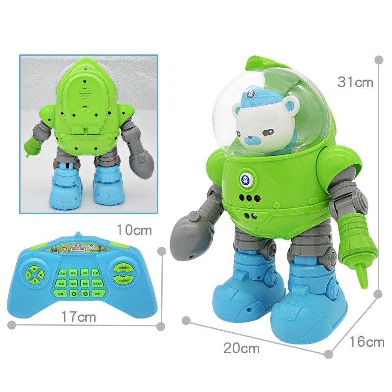 Pequeño Robot de mar profundo de la columna inferior de juguete inteligente para niños de juguete de Control remoto eléctrico Robot Buddyfun - 3
