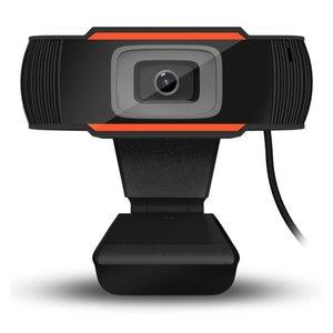 2020 Поворотная HD веб-камера ПК мини USB 2,0 веб-камера видео запись высокой четкости с 1080P/720P/480P истинные цветные изображения