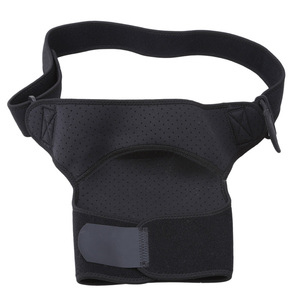 Adjustable Professional Shoulder Strap Pads Protector Sports Elastic Breathable Brace Support Wraps Shoulder Belt 36-51cm Black