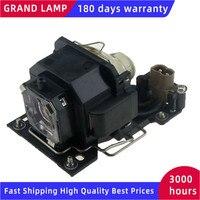 DT00781 HITACHI CP-RX70/ X1/ X2WF/ X4/ X253/ X254 ED-X20EF / X22EF MP-J1EF HAPPY BATE 용 하우징이있는 호환 프로젝터 램프
