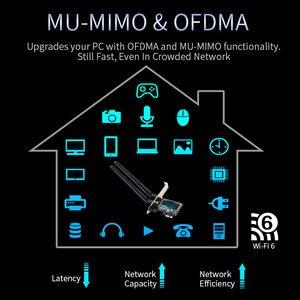 Image 5 - デスクトップワイヤレスpcie無線lanアダプタインテルWifi6 AX200デュアルバンド9260NGW ac bluetooth 5.0 2.4グラム/5グラム802。11ac/ax MU MIMO windows 10