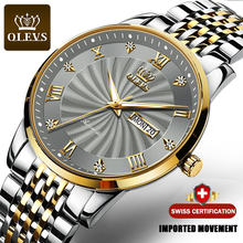 Часы наручные olevs Мужские автоматические роскошные брендовые
