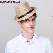 Соломенная шляпа для детей и взрослых модная пляжная Панама