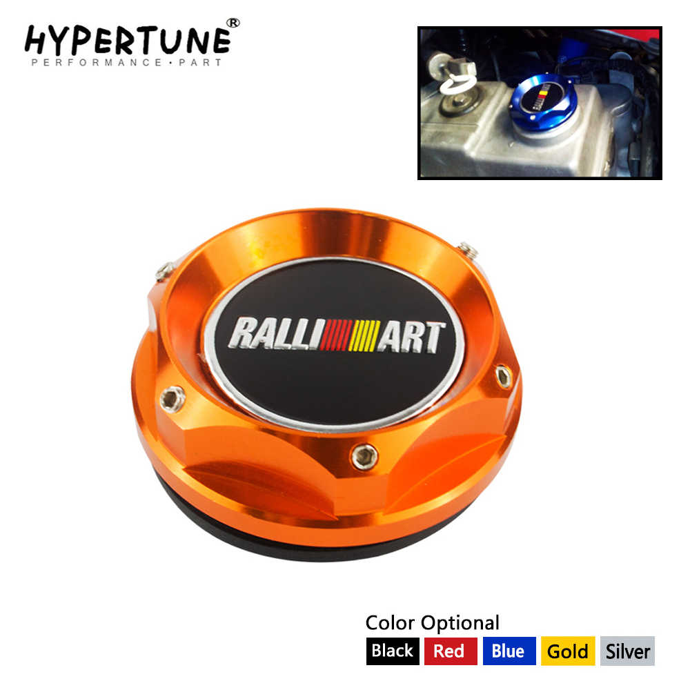 Hypertune - Ralliart Racing Engine Oil Cap Oil Fuel Filler Cover CapสำหรับMitsubishi HT6315