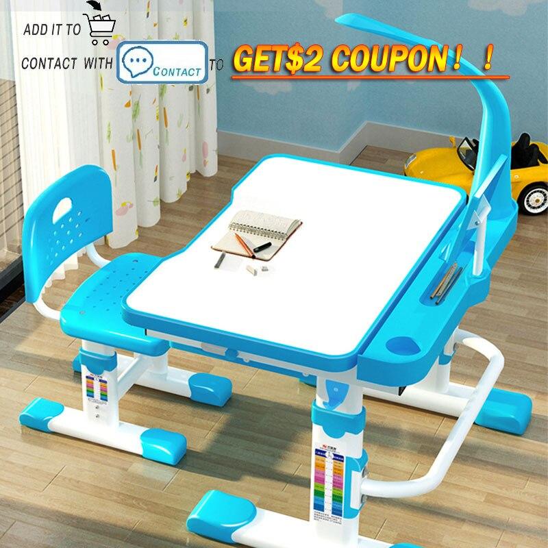Mesas e cadeiras ergonômicas, mesas ajustáveis para estudar crianças