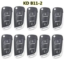 10 шт./лот новый пакет KEYDIY KD B11-2 DS Стильный многофункциональный пульт дистанционного управления для KD900/KD MINI/Φ key программатор