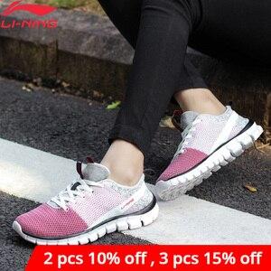 Image 1 - لى نينغ النساء 24H الذكية أحذية تدريب سريعة بطانة لى نينغ تنفس أحذية رياضية خفيفة الوزن أحذية رياضية AFHN026 YXX018