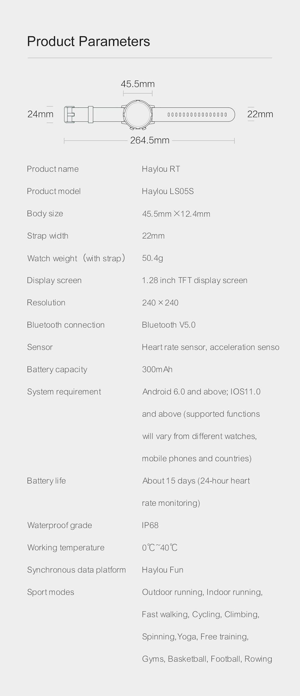 prova dip68 água relógio inteligente suporte coreano