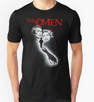 THE OMEN T SHIRT 1970'S MOVIE FILM HORROR RETRO VINTAGE BIRTHDAY PRESENT Retro Tee Tshirt
