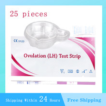 A ovulação testa a fertilidade de 25 pces para comprimidos da ovulação da mulher a vara rápida do papel do teste sobre a fertilidade do preditor da urina da precisão de 99%