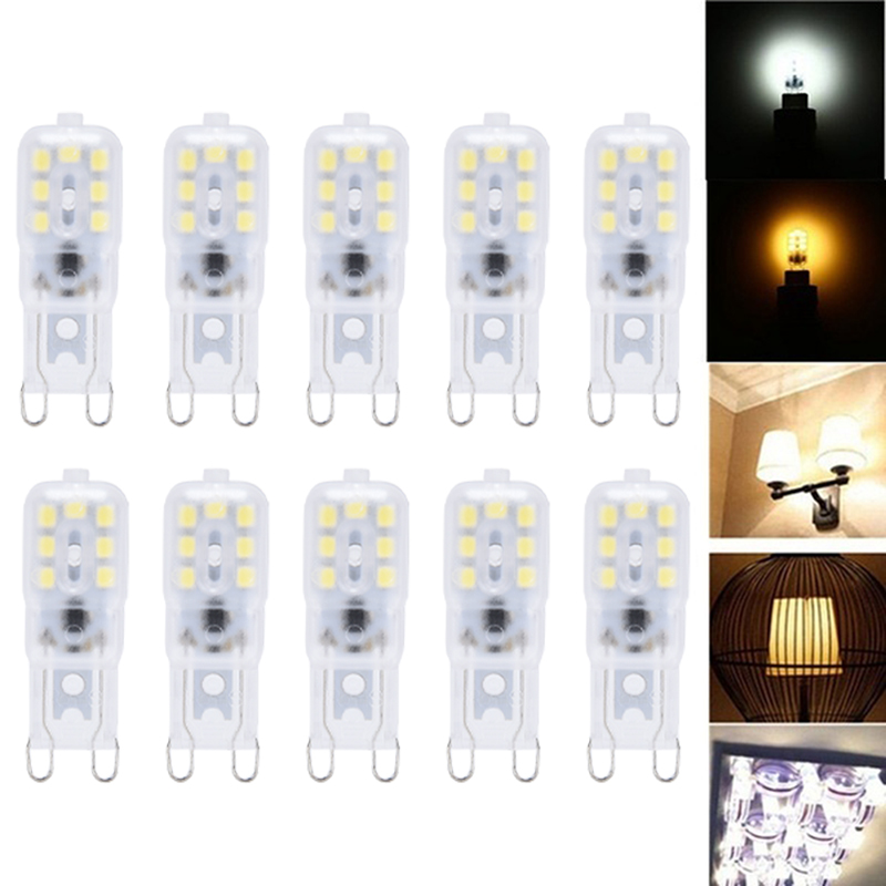 G9 LED Lamp Mini LED Bulb AC 220V DC 12V SMD2835 Spotlight Chandelier High Quality Lighting Replace Halogen Lamps