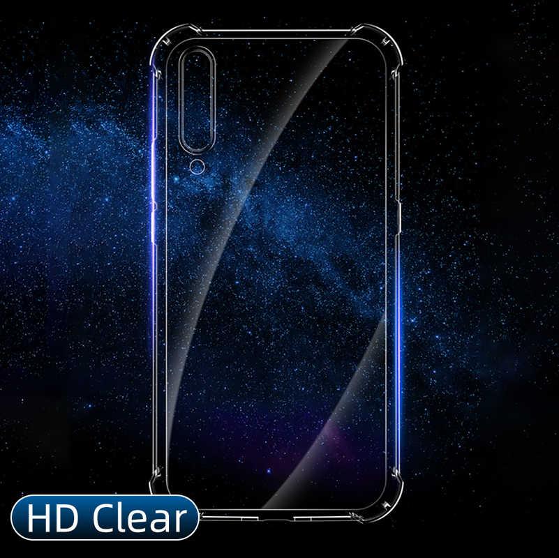 Tahan Guncangan Case untuk Xiaomi Redmi Note 10 Pro 9 6 9T A3 Lite 9S 8 7 6 5 k20 K30 Pro 8T 8A Kristal Transparan Airbag Cover Case