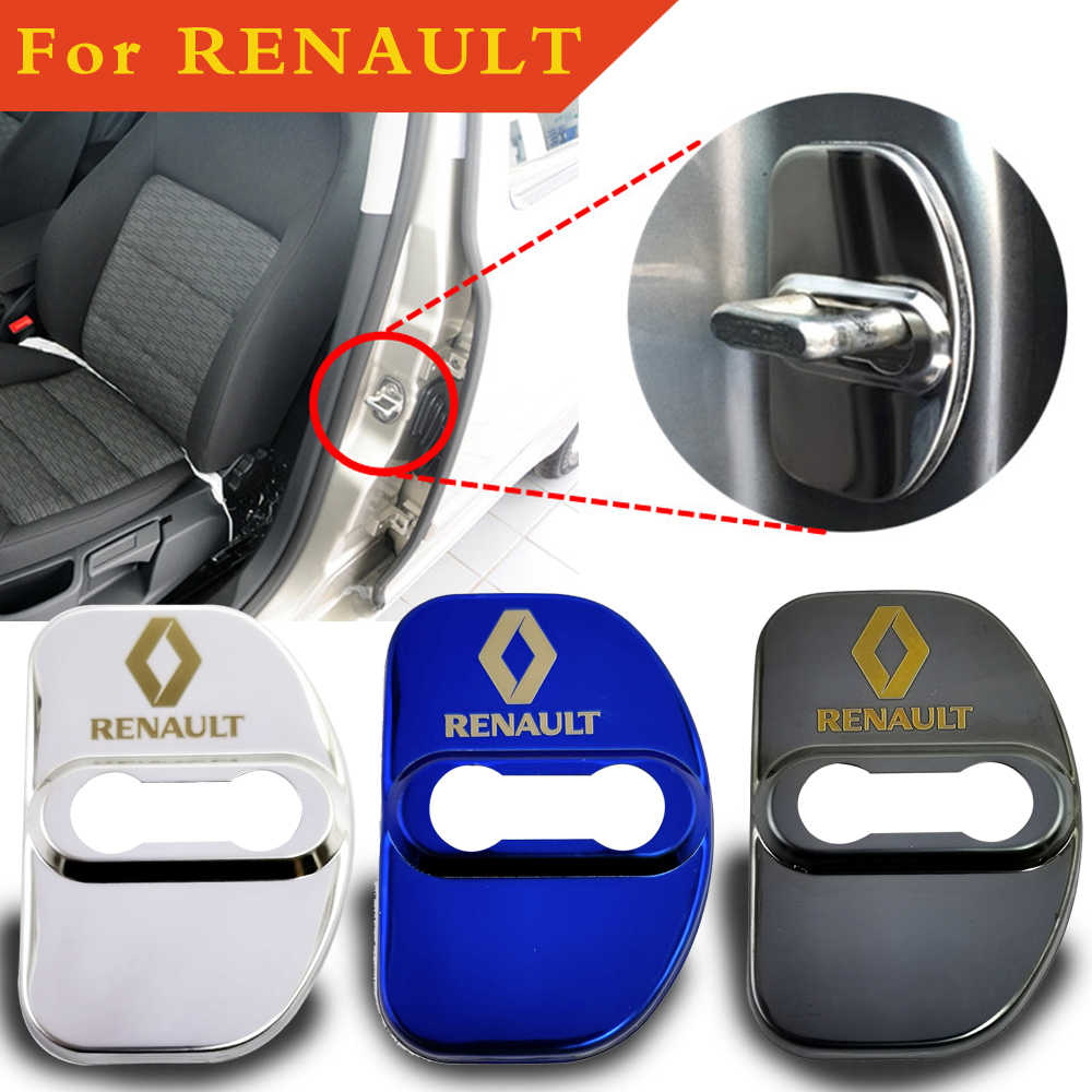 4PCS Portello di Automobile di servizio di Blocco Per La Renault fluence megane 2 3 scenic talismano daster clio arkana sandero logan simbolo captur