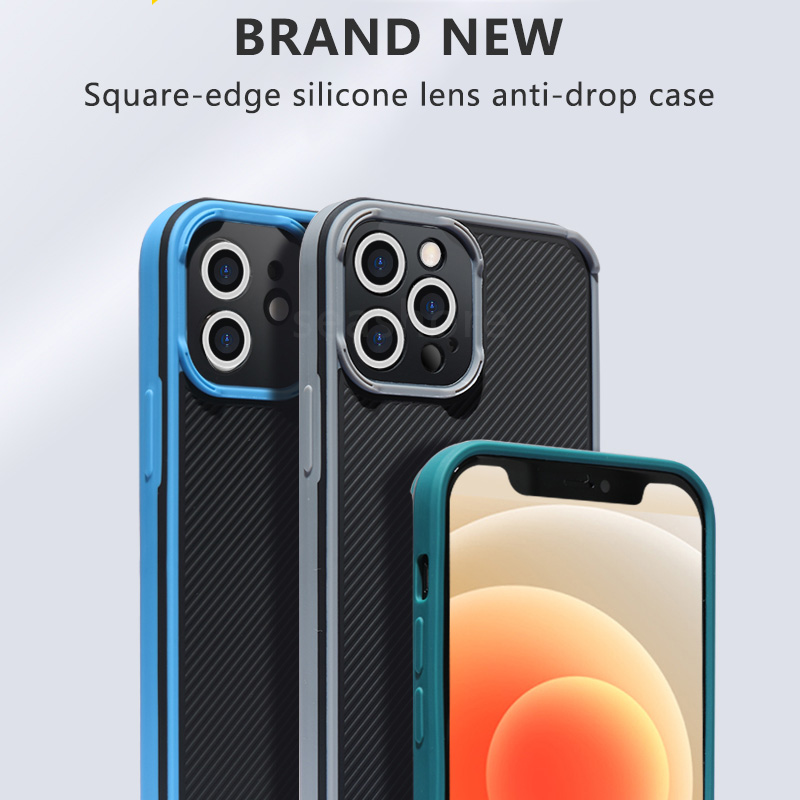 Camera Lens Protection Case For iPhone 12 11 Pro Max Mini SE 2020 Xr X Xs Max 7 8 6 6s plus Silicone Soft Shockproof Back Cover
