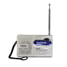 Mini Radio Portable AM/FM Antenna Telescopic Receiver Small Multi-function Loudspeaker Music Player Radios For Elderly Gift R119(China)