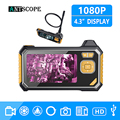 Antscope 1080P HD 8mm Industriële Endoscoop 4.3 Inch Auto Reparatie Inspectie Camera Endoscoop Lithium Batterij Snake Hard Camera 19