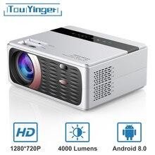 Светодиодный проектор TouYinger X30, 4000 люмен, 1080P, Full HD, Wi-Fi, ЖК-дисплей, домашний кинотеатр, проектор на Android, опционально, экран 180 дюймов