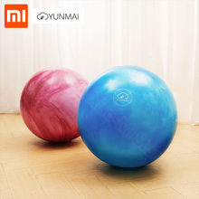 Xiaomi YunMai Body Explosion-Proof Yoga Ball High Density Lightweight Fitness Body Fascia Massage Yoga Exercise Relieve Pain dmar high density epp massage peanut ball set lightweight fitness training body massage yoga exercise relieve pain gym home