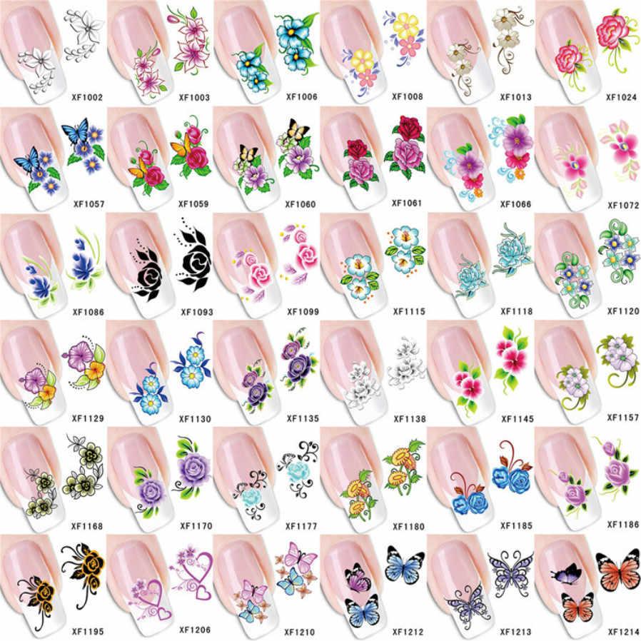 1Pcs Kawaii Kleurrijke Bloem Nail Art Nagellak Set Hybride Alle Manicure Permanant Uv Nail Art Prime Gel Vernis nagellak Nr3