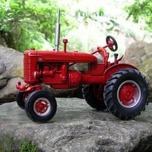 Специальное предложение fine 1:16 14177 CA IH Ретро модель трактора сельскохозяйственный Транспорт модель Сборная модель из сплава