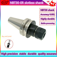GUS Imported keyway shank nbt30 er milling cutter shank high speed nc shank dynamic balance high precision cutter head