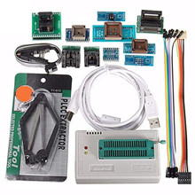 Kit 10 TL866II Plus Programador Adaptadores Auto Acessórios Profissional Multifuncional Notebook Motherboard BIOS Flash Minipro USB(China)