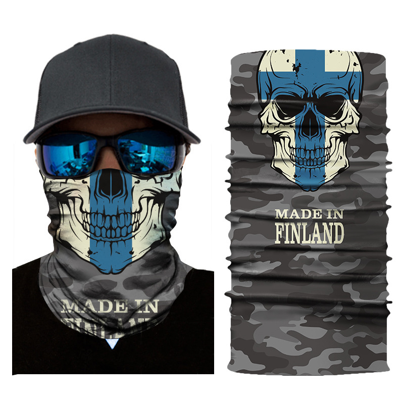 National Emblem of Italy Neck Gaiter Warmer Windproof Face Mask Scarf Outdoor Sports Mask