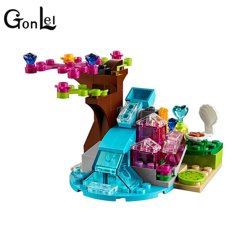 Image 3 - 214pcs/set The Water Dragon Adventure Building Bricks Blocks DIY Educational toys Compatible with Legoinglys Elves-in Blocks from Toys & Hobbies