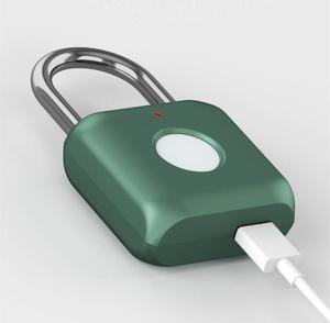 Image 3 - From xiaomi youpin Youdian Intelligent Fingerprint Lock Padlock Kitty Hardcore Technology Open Smart miHome Travel Office Safe