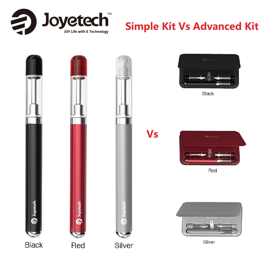 Original Joyetech ERoll Mac Simple Pen Kit 180mAh Vs 2000mAh Joyetech ERoll Mac PCC Advanced Kit Vape E-cigarette Vs Kubi Kit