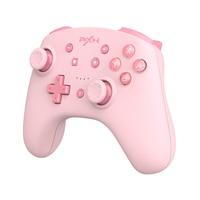 Controller Nintendo Switch gioco Gamepad PXN compatibile con Bluetooth per Switch Lite/PC cavo dati USB telecomando NFC/Amibo rosa