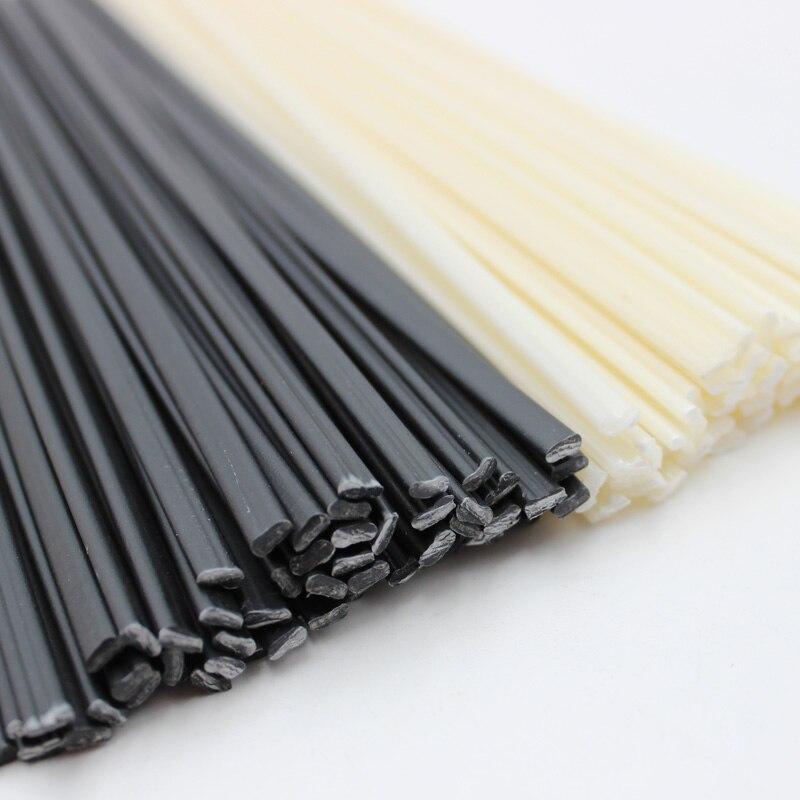 黒/ホワイト長さ 25 センチメートル ABS/PP/PE/PPR プラスチック溶接棒車のバンパー修理ツール熱風溶接機マシンガン