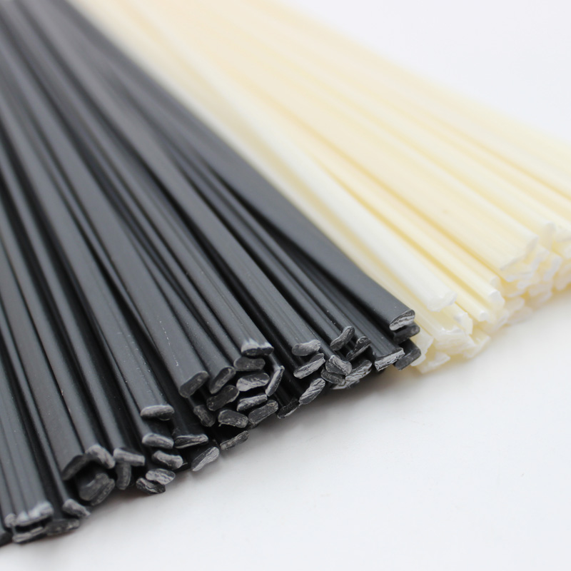 Black/White Length 25cm ABS/PP/PE/PPR Plastic Welding Rods For Car Bumper Repair Tools Hot Air Welder Machine Gun