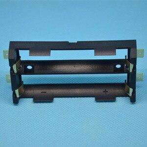 Image 3 - ABS 18650 כוח בנק מקרי 1X 2X 18650 סוללה מחזיק תיבת אחסון מקרה 1 2 חריץ סוללות מיכל עם קשה פין SMT אבזר