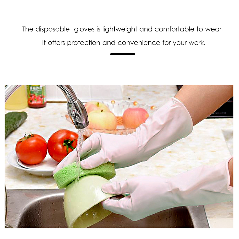 Image 5 - 100PCS/Box Disposable PVC Gloves Powder Free Gloves for Home Restaurant Kitchen Catering Food Process Examination UseSafety Gloves   -