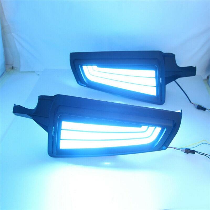 For Toyota Hiace 2019 2020 LED DRL Daytime Running Light Fog Signal Lamps