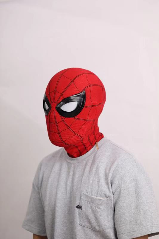 Spider Man Cosplay Mask With Mechanical Lenses