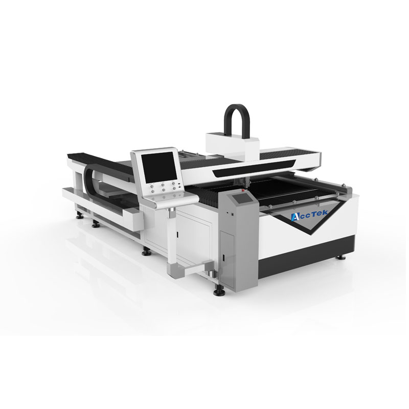 500w CNC Fiber Laser Cutter For Precision Cutting/ Double Heads Fiber Laser Cutting Machine With Reci Co2 Laser Tube 150w