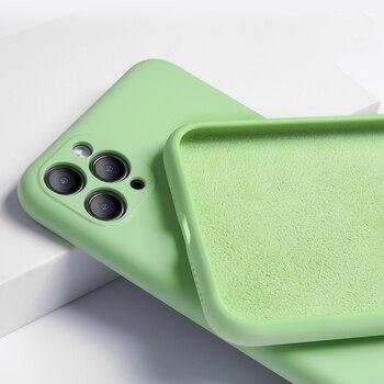 Silicone Matte Soft iPhone 11 Pro Max Case