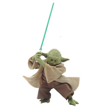 цена на Star Wars Toys Master Baby Yoda Darth Jedi Knight Pvc Action Figures The Force Awakens Baby Yoda Collection Model Dolls Toys