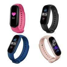 Bracelet connecté sportif M5 pour hommes et femmes, capteur dactivité physique avec suivi de la pression artérielle et du rythme cardiaque, X6HA