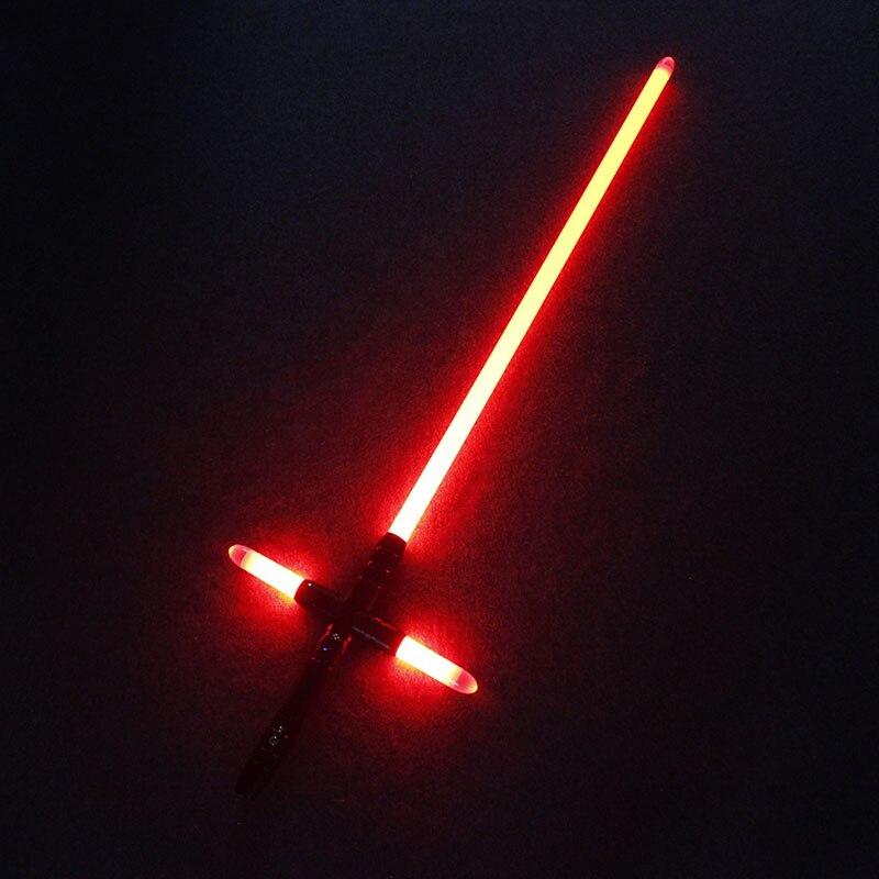 Lichtschwert YDD Metall Griff Kleine Kreuz Licht Saber Kraft FX Schwere Dueling LED Lichtschwert mit FOC Lock Up Luminous Spielzeug - 3