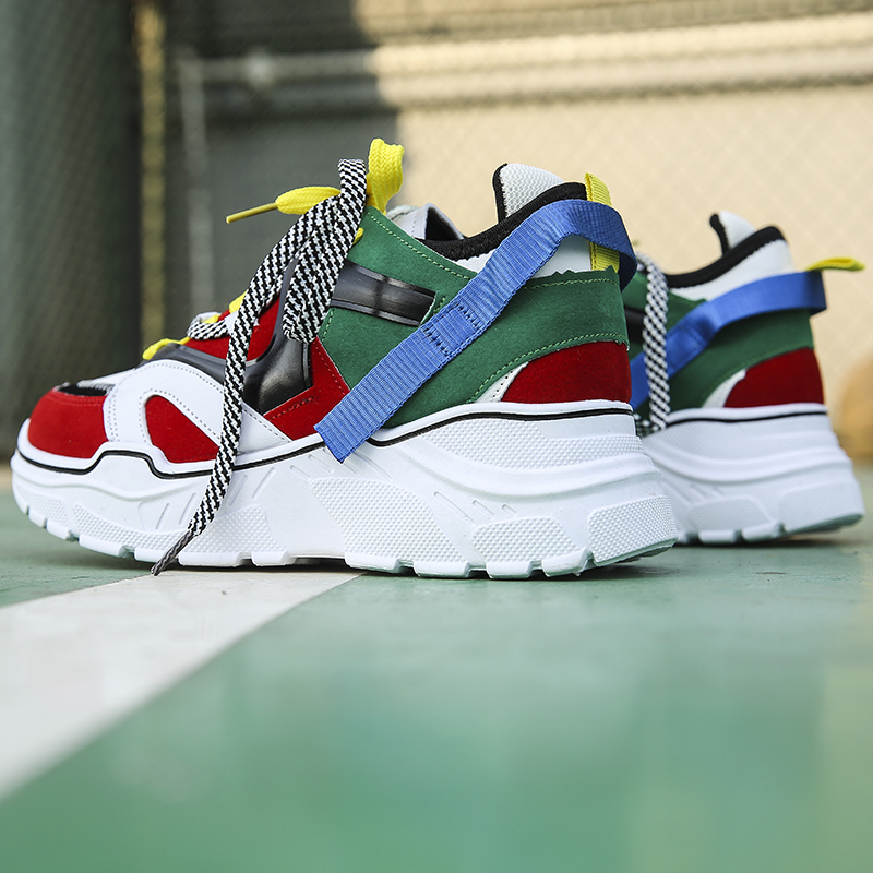 H57415dc6185f4d9b8c65768b7f051f08j Sooneeya Four Seasons Youth Fashion Trend Shoes Men Casual Ins Hot Sell Sneakers Men New Colorful Dad Shoes Male Big Size 35-46